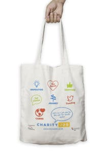 Charity Jobs Bag