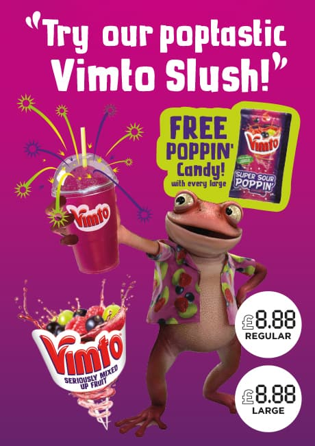 Vimto Slush promo Levi Roots video
