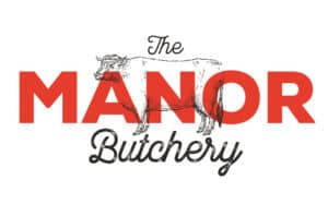 The new Manor Butchery Logo